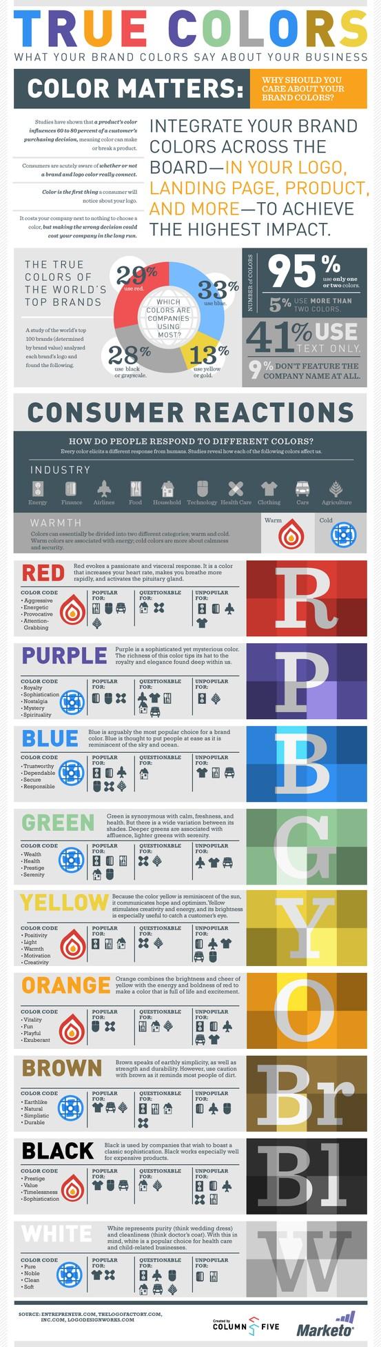 Colour Pyschology Infographic