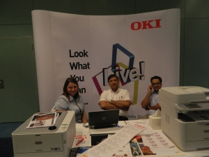 OKI Team hard at work